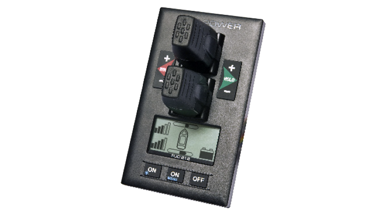 Side-Power proportional control panel upgrade